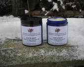 JAR'D SOAP - Creamed Soap in a 4 oz Jar.  All Natural and Organic Ingredients.