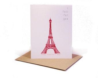 Eiffel Tower Valentine's Day Card