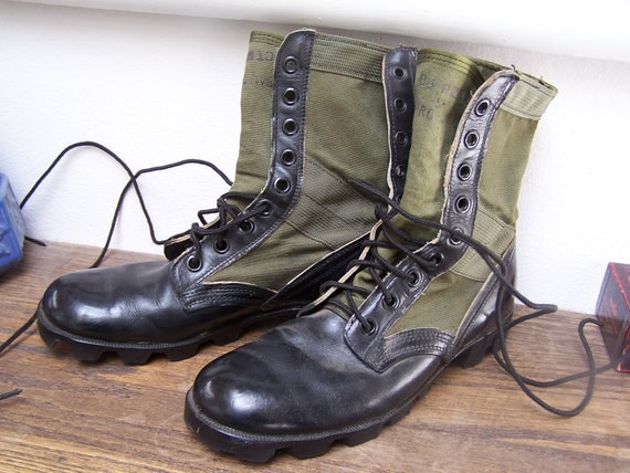 Jungle Boots Vietnam Era Combat Beta military Hot weather Mens 8.5