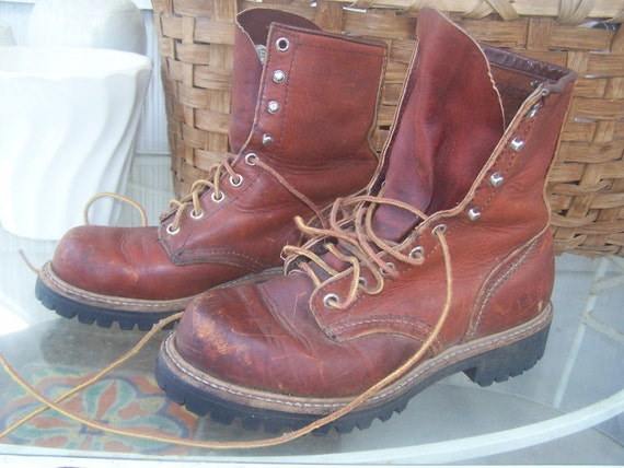 Irish Setter Sport Work Boots Red Wing Size 6.5 Mens 8 Womens