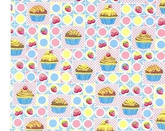 1 yard--Fabri-Quilt Inc--Sweet Cakes Patch--Fabric