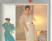 Style Pattern 4399 Zandra Rhodes Gown 1985 RARE sz12!/2 off SALE reflected