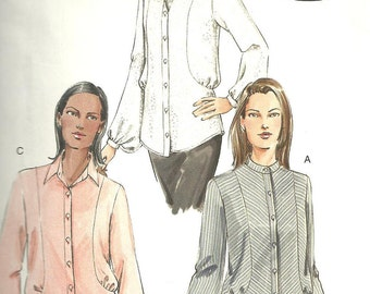 Vogue Pattern Blouse V7936 year 2004 size 12 14 16
