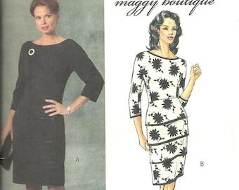 Butterick B4644 Dress Pattern Maggy London 16 18 20 22 FF