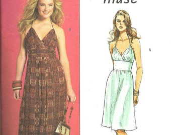 Butterick 4977 Pattern Dress 6 8 10 12 FF
