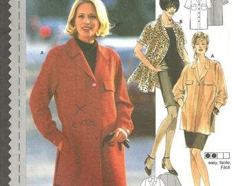 Burda 3375 Vintage Jacket Top Blouse Tunic