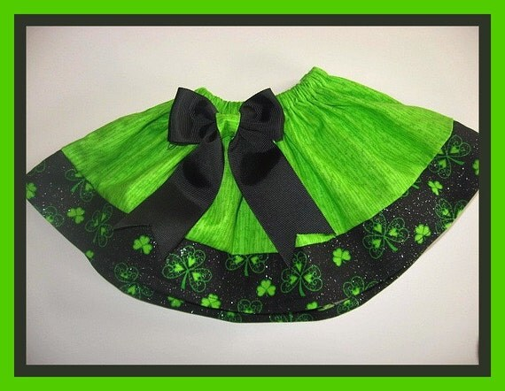 St Patricks Day Skirt