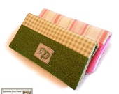 Wallet sewing pattern, Checkbook wallet, cell phone, coin wallet  All-in-one sewing pattern --- PDF