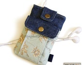 Iphone/ipod sleeve sewing pattern/tutorial -- PDF file