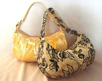 Zippered purse sewing pattern, bag sewing pattern ---PDF