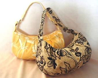 Zippered purse sewing pattern ---PDF
