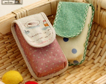 cell phone/camera case sewing pattern In PDF--Beginner