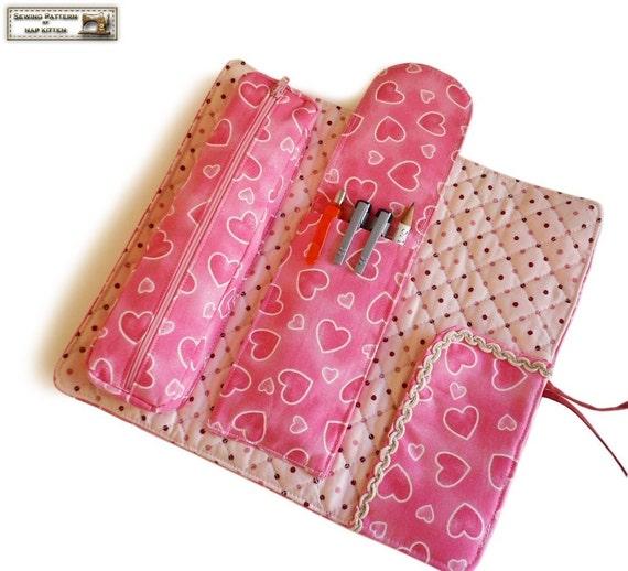 Multifunction roll organizer sewing tutorial --- PDF