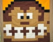 Lil Geek DONKEY KONG Crib Quilt