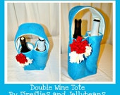 Double Wine Tote Pattern