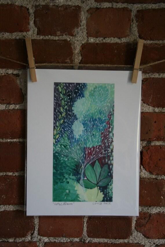 Lotus Bloom - Print