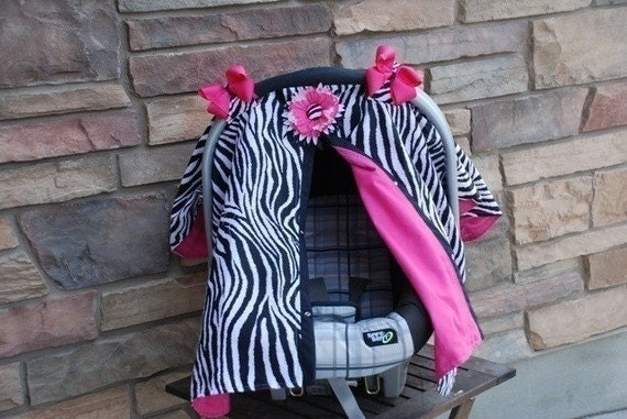Zebra Carseat canopy  / Car seat cover / car seat canopy / carseat cover / carseat canopy / nursing cover