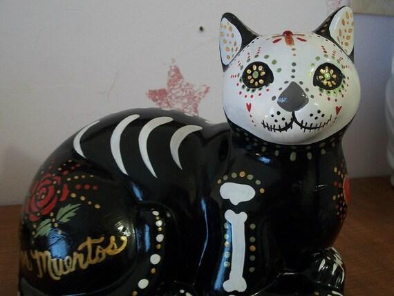 Dia de Los Muertos Beautiful Cat