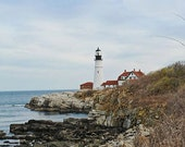 Portland Head Light in Spring - 8x10 Fine Art Photographic Print