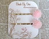 Pale Pink Bobbie Pin Set