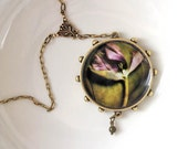 Mothers Day Sale 20% OFF A Tulips Dance -  Photograph Pendant Necklace original photography artisan designed
