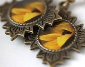 Awash - Photograph earrings - original photography