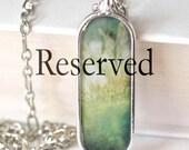 RESERVED for kmschurch - Photograph Pendant Necklace - original photography