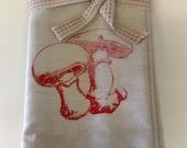 Red Mushroom Napkins
