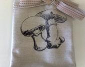 Black Mushroom Napkins