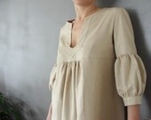Dress - My Garden - Nude color