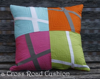 At a Cross Roads Cushion