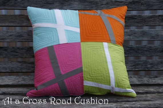 At a Cross Roads Cushion