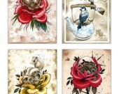 Postcard / Mini Prints - Pack of 4