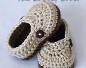 Booties Crochet Pattern for LITTLE MISTER LOAFERS digital