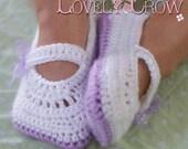 Toddler Slippers Crochet Pattern Toddler Girl Shoes for - TODDLER RIBBON MARYJANES digital