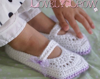 Toddler Mary Janes Crochet Pattern Toddler Girl Shoes for - TODDLER RIBBON MARYJANES digital