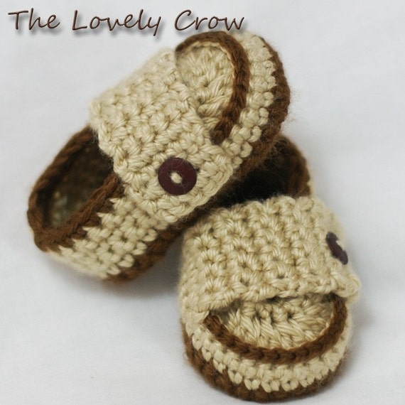 Easy Crochet Baby Boy Hat Patterns : Baby Boy Booties Crochet Pattern for Little PRINCE Loafers