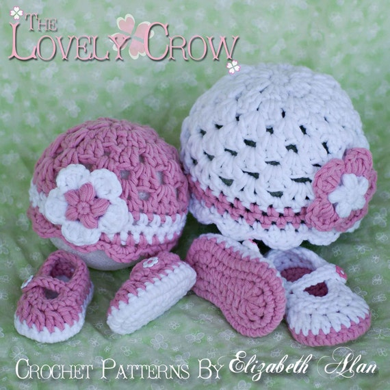 Free Crochet Patterns For Baby Sport Yarn : Chunky Yarn Crochet Pattern for Bulky Baby Button Maryjanes