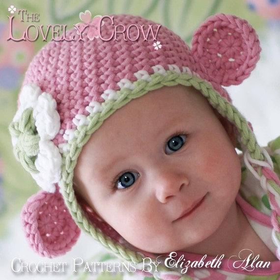 Crochet Hat Pattern For Bulky Yarn : Hat Crochet Pattern for Babies or Toddlers Bulky Yarn Monkey