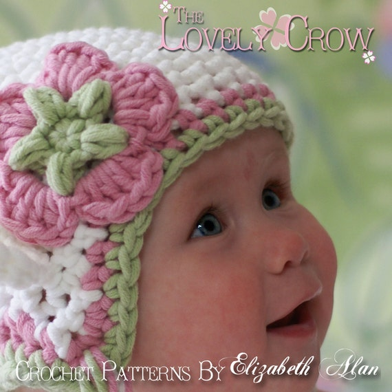 Hat Crochet Pattern for Babies or Toddlers Bulky Yarn Monkey