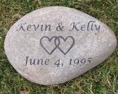 PERSONALIZED Oathing Irish Celtic Wedding Stone 9-10 Inch Oath Stone Wedding Gift - Engagement Gift Ideas