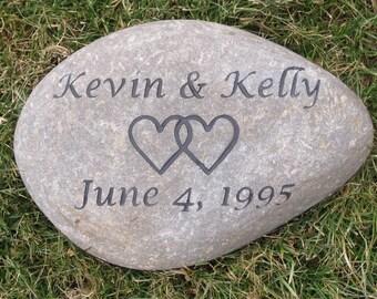 Oathing Irish Celtic Wedding Stone Oath Stone Wedding Gift Engagement Gift Ideas 9-10 Inch