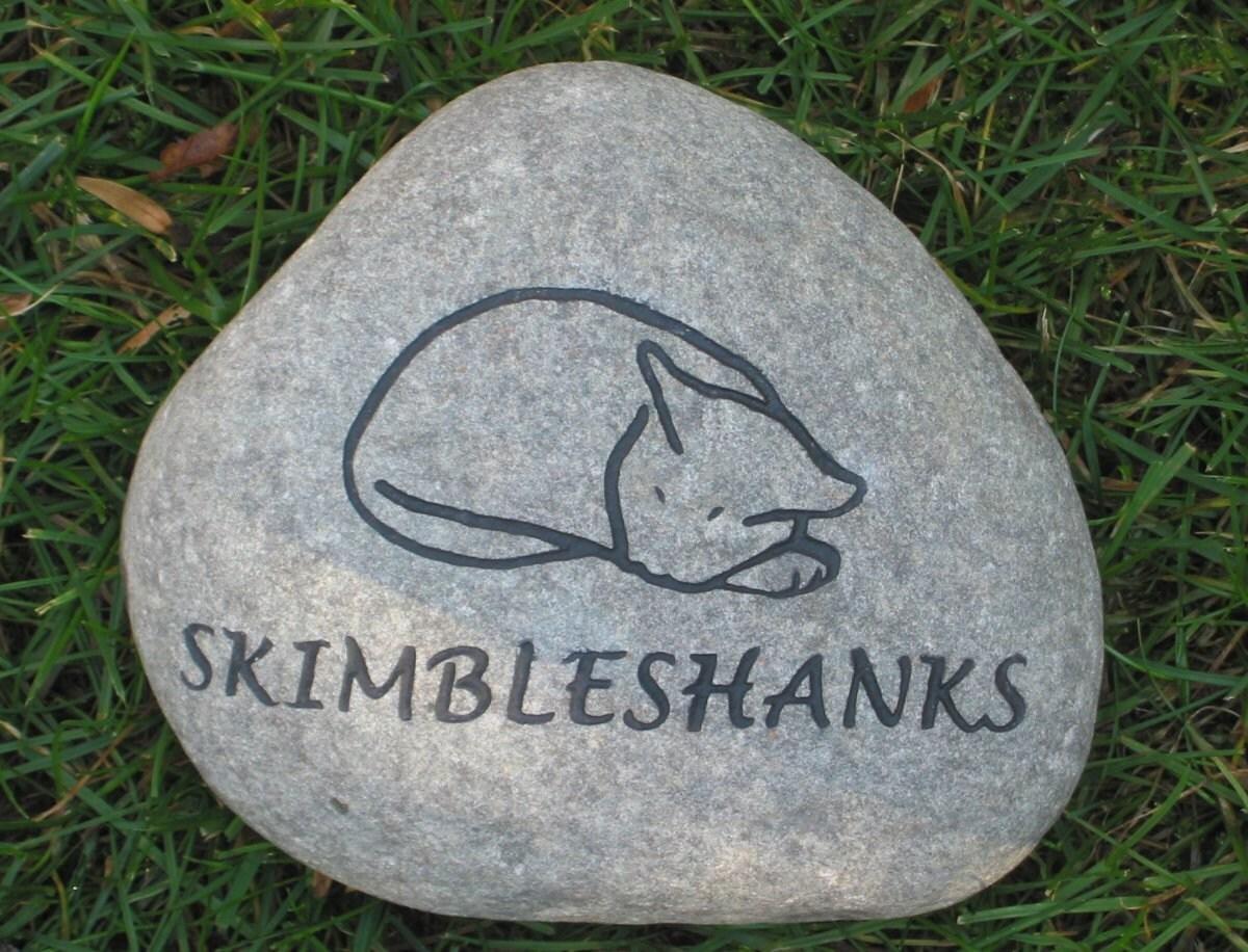 Personalized Cat Memorial Stone Garden Memorial Headstone