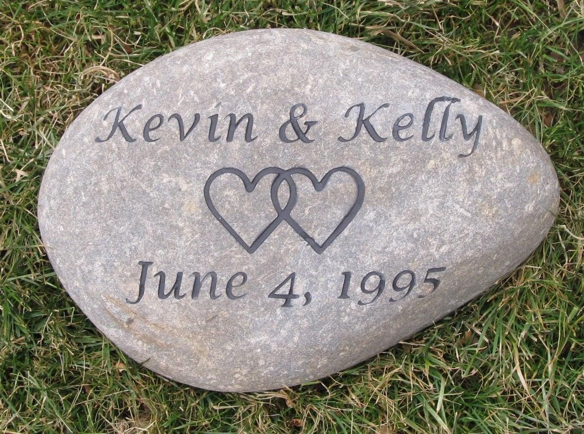 PERSONALIZED Oathing Irish Celtic Wedding Stone 9-10 Inch Oath