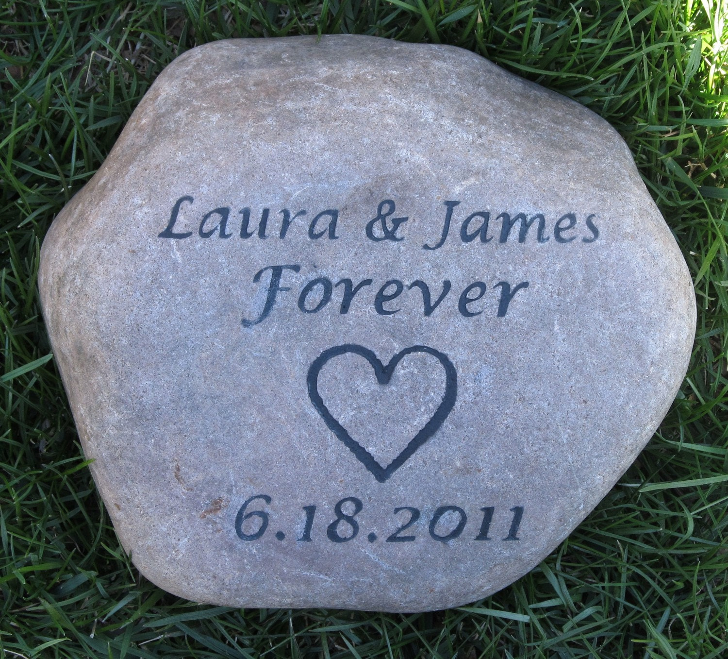 Custom Irish Wedding Oathing Stone Personalized Wedding Gift