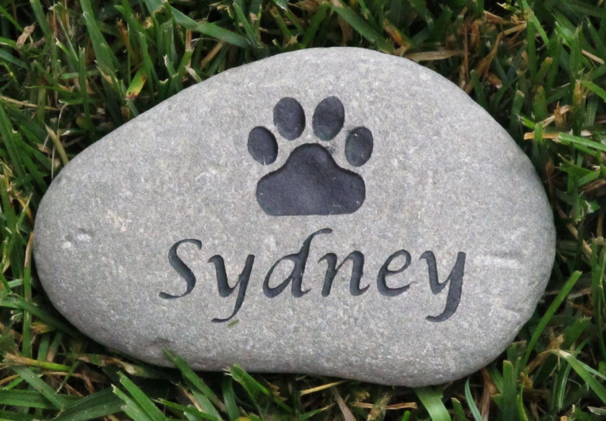 Personalized Pet Memorial Gift Stone Memorial Grave Stone