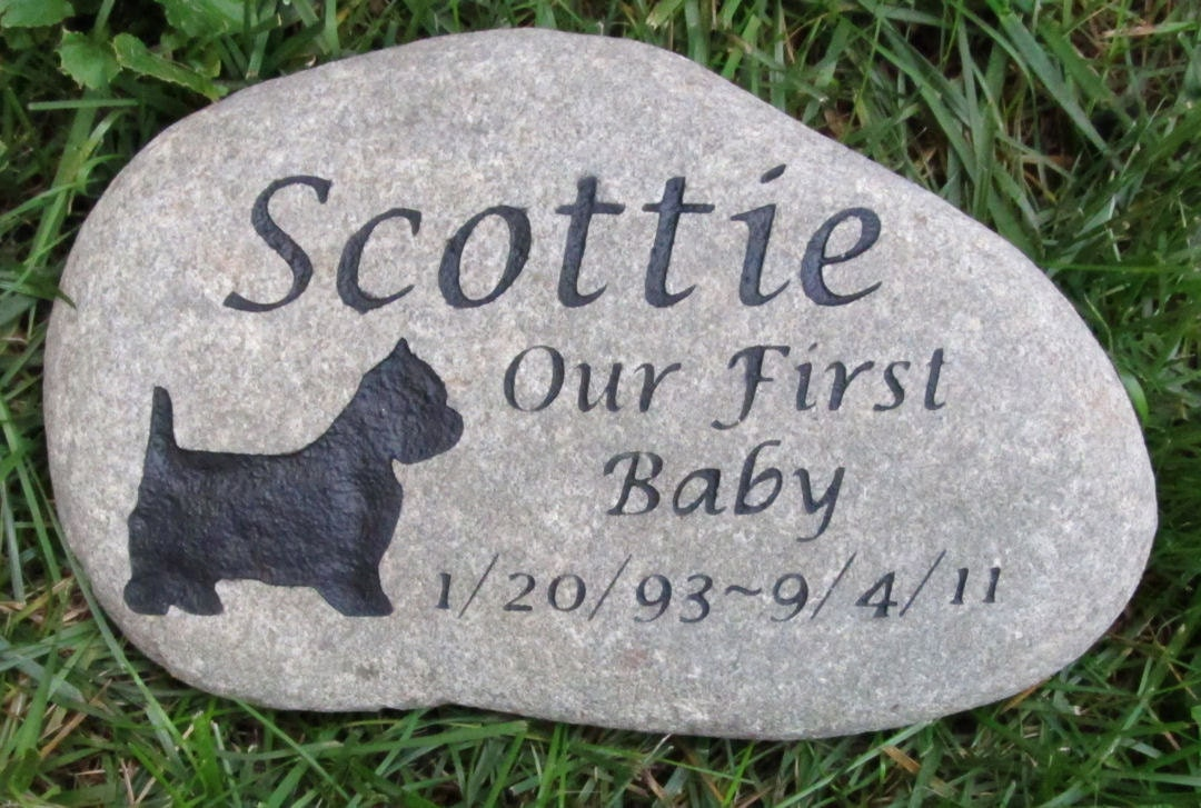 Cat And Dog Tombstone