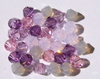 Swarovski crystal beads BICONE 5328 crystal beads MIX 29 -- Available in 4mm