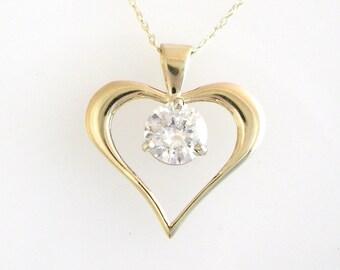 Heart Pendant in Gold