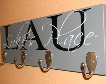 Personalized Coat Hanger - Great House Warming Gift